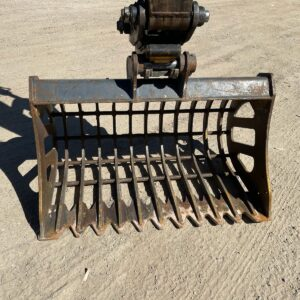 Rake Bucket (45mm Pin) Excavator - Machine Accessories for Hire - Earthworks & Earthmoving Equipment Hire Perth - JEDS Contracting