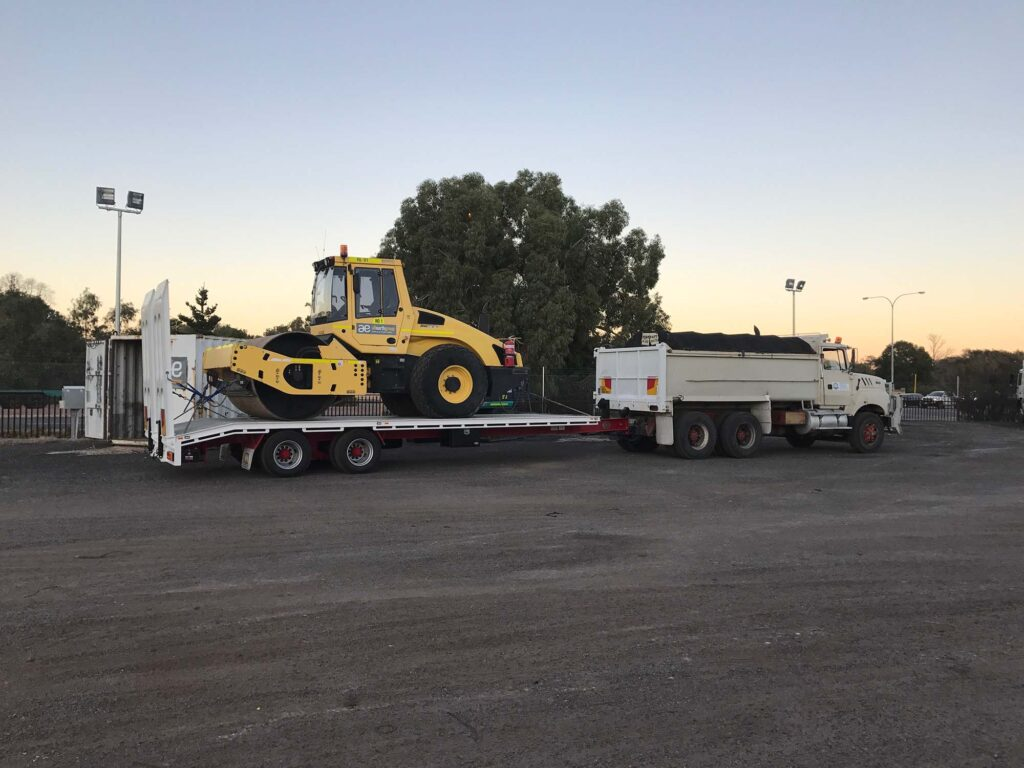 Tandem Axle Plant Trailer - Transport Earthworks & Earthmoving Equipment Hire Perth - JEDS Contracting