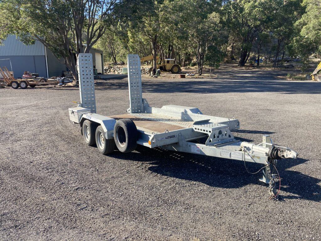 Plant Trailer - Transport - Earthworks & Earthmoving Equipment Hire Perth - JEDS Contracting