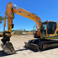 14.5 Tonne Hyundai 145CR-9 Excavator - Earthworks & Earthmoving Equipment Hire Perth - JEDS Contracting